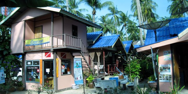 Business for Sale Koh Chang in Lonely Beach, the shop