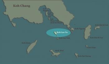 Koh Lao Ya Map