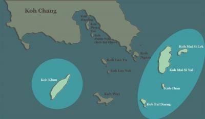 koh-chang-map-koh-klum-islands near koh chang